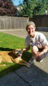 Ginger dog and VK